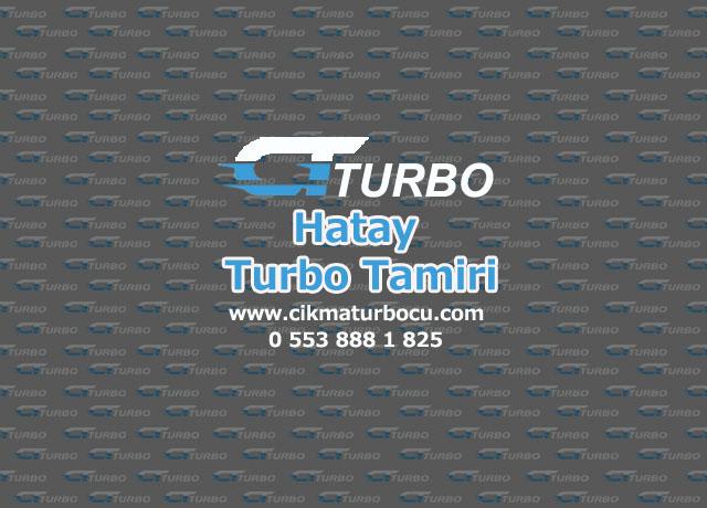 Turbo Tamiri Hatay iskenderun