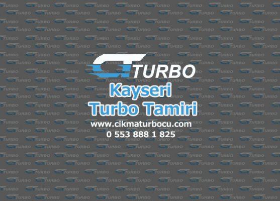 Turbo Tamiri Kayseri
